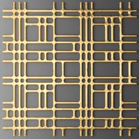 max panel lattice grille
