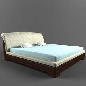 3d mobili double bed franklin