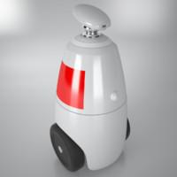 3d consultant robot r bot100 model
