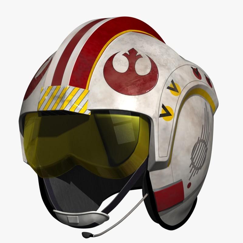 luke skywalker helmet max