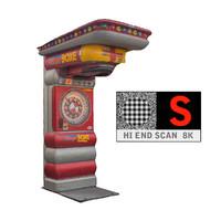 lunapark boxer 8k 3d model