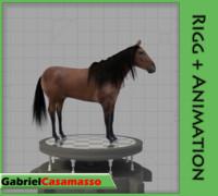 horse 3d x