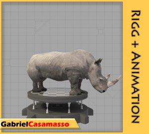 rhinoceros animation x