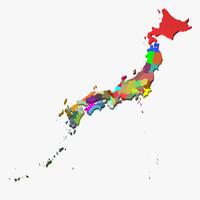 Japan 3D Map