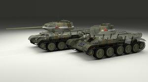 3d model of soviet t-34 85 tank