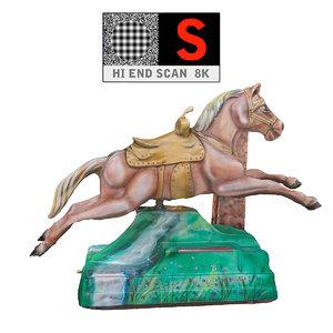 3d lunapark pony machine