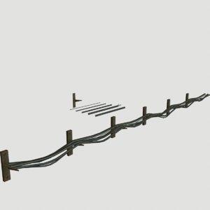 metal wire 3d model