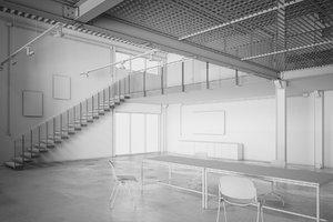 architecture loft industrial 3d model