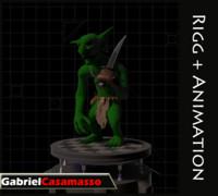 goblin 3d fbx