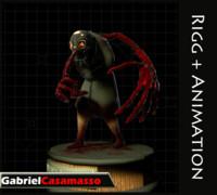 3d model terror character