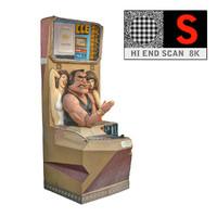 obj lunapark athlete scan 8k