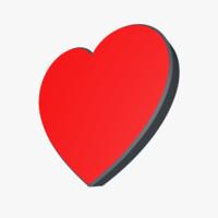 3ds valentine heart love