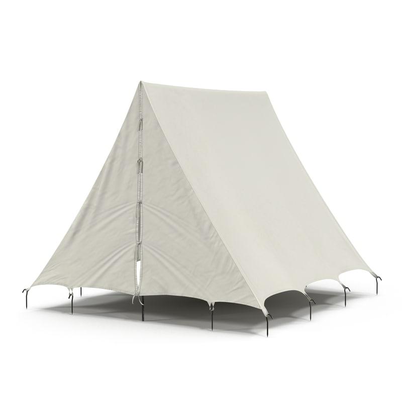 3d camping tent 2 model