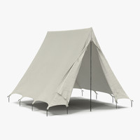 Vintage Camping Tent 2