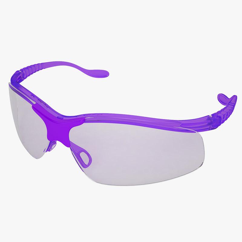 medical safety glasses obj