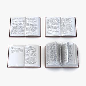 open books set max