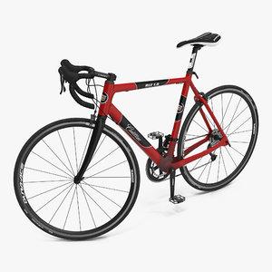 road bike cadillac rigged 3d max