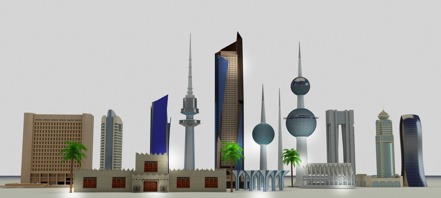 max kuwait skyline