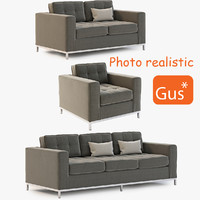Gus Modern Jane Chair and Sofa