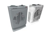 electric heater holmes 3d model