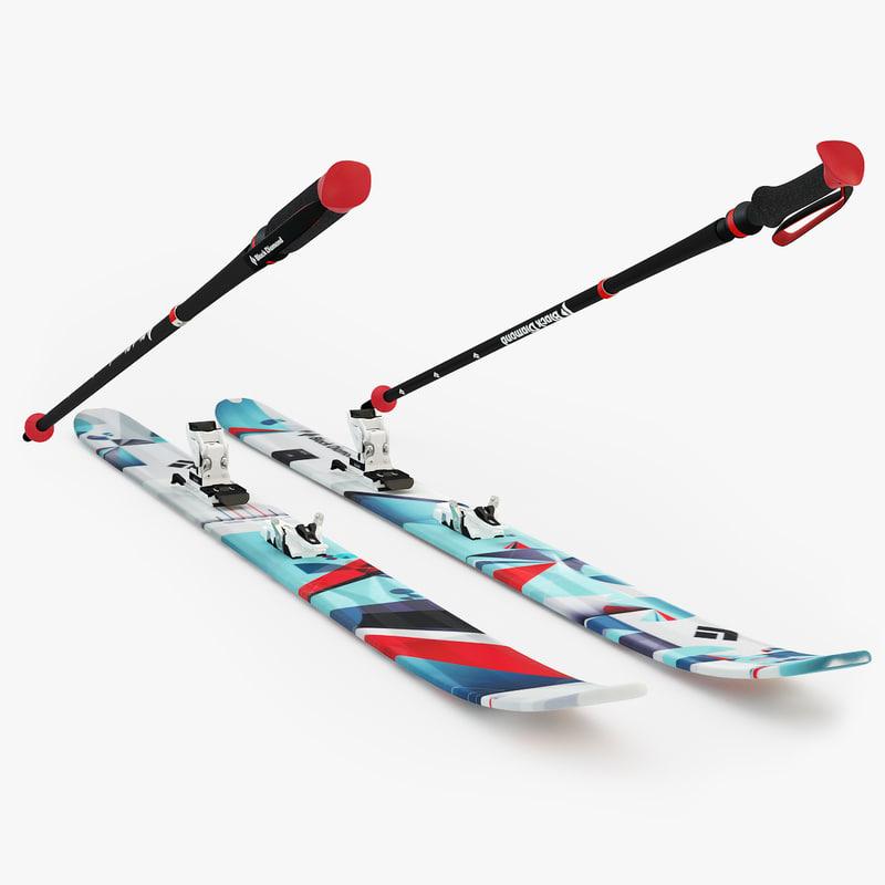 ski diamond 3d max