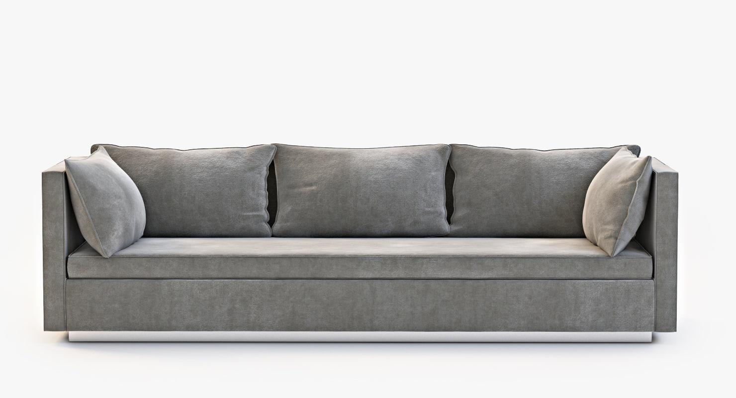 3d model andrea sofa niedermaier