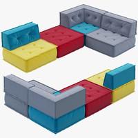 interia siesta sofa 3d model