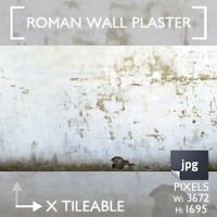 Roman Wall Plaster (damaged)