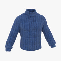 Wool Sweater Blue