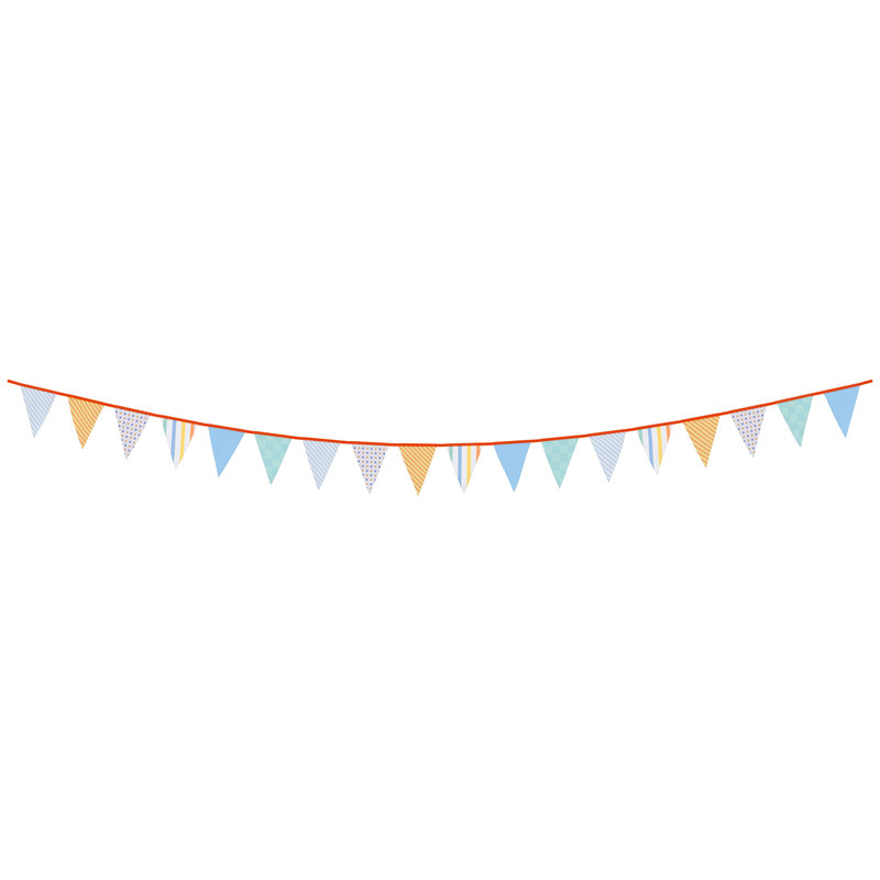 3d 3ds triangle flag banner 3