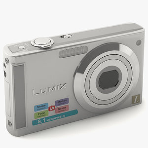 photo camera 3d max
