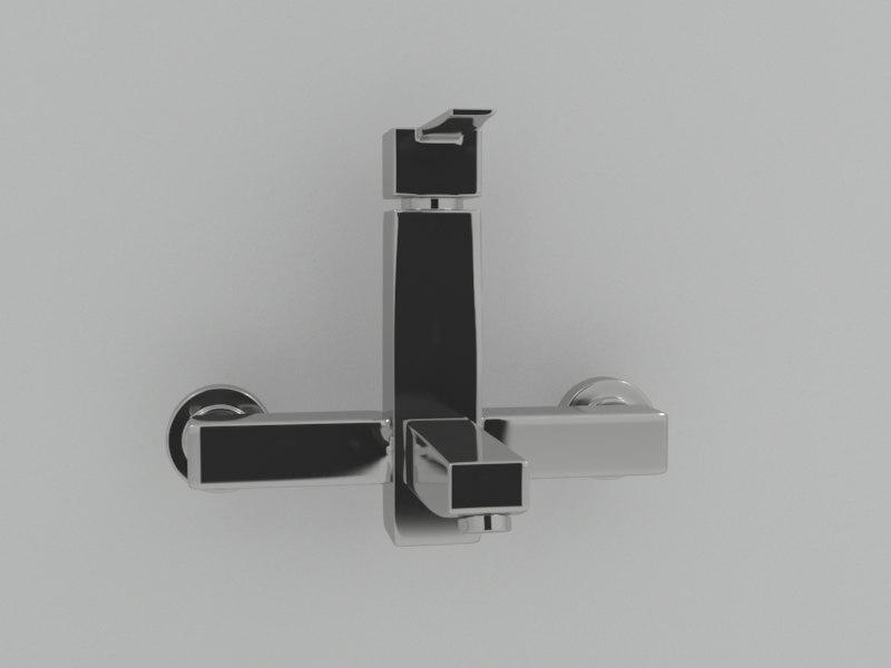 3d model faucets