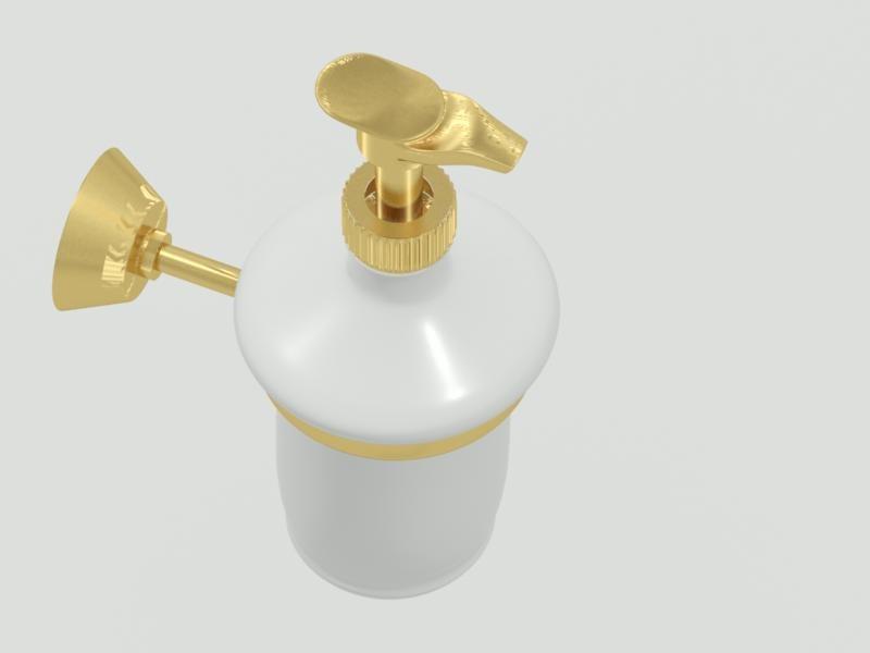 soap dispenser 3d max