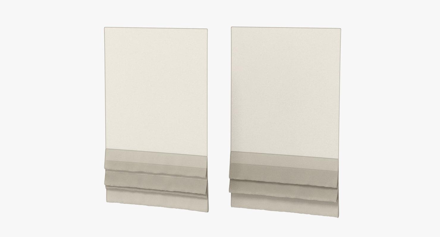 blinds realistic 3d obj