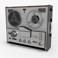 Retro Reel Audio Tape Recorder