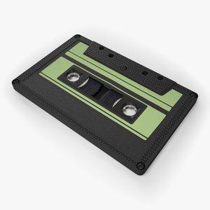 obj cassette retro