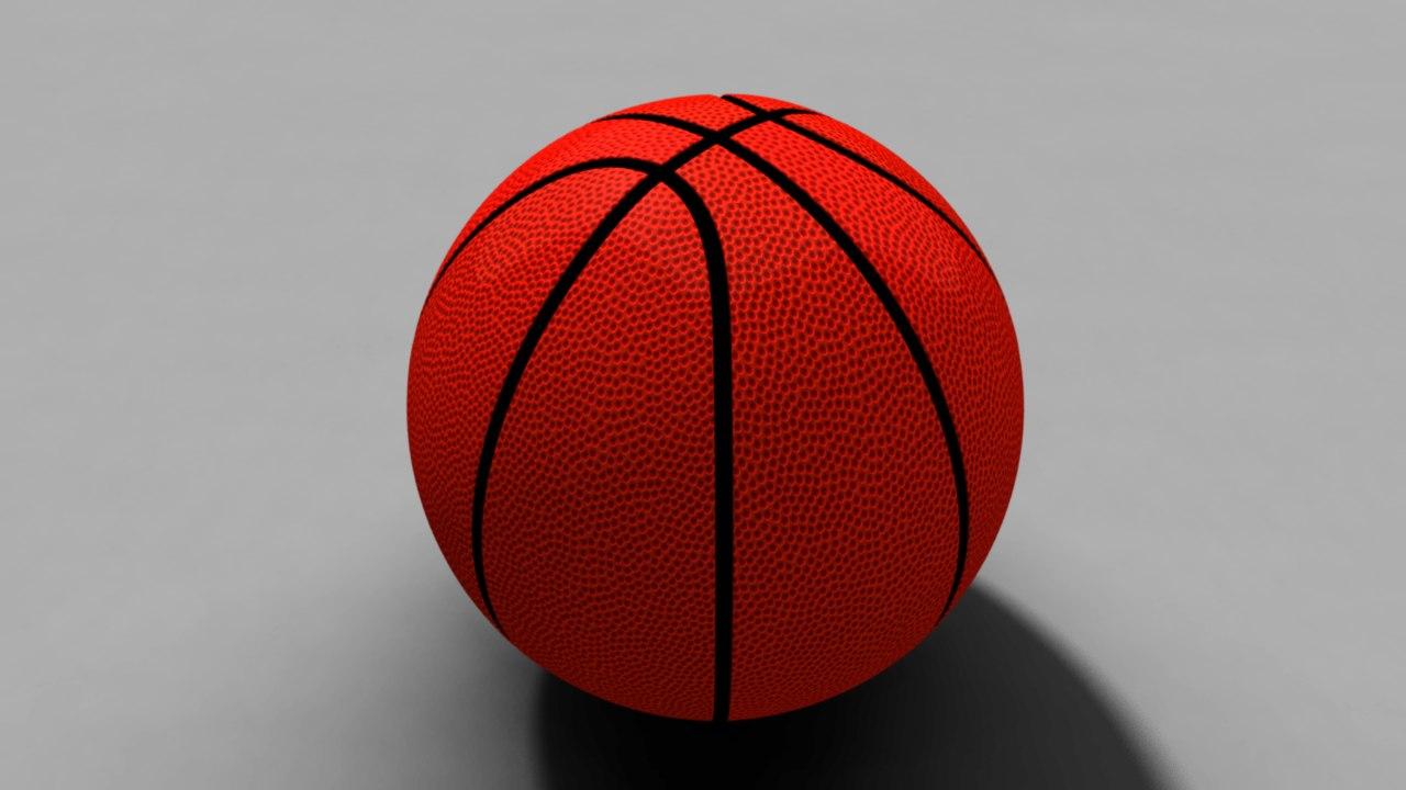 basket ball obj