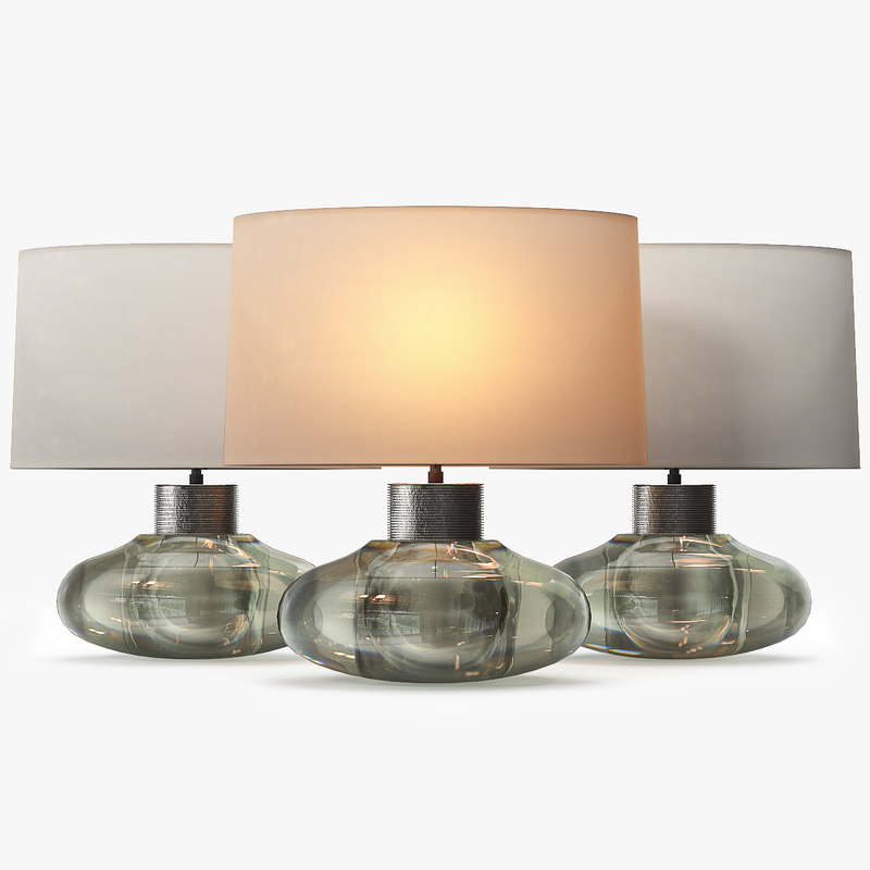 3d model of glb49 cologne lamp light