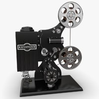Keystone Film Projector