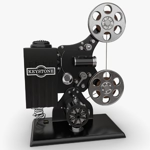 keystone film projector obj