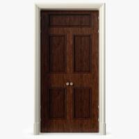 3d door simple double model