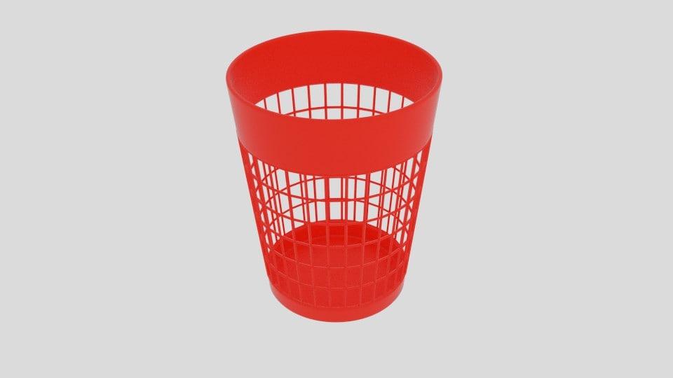 basket bin 3ds