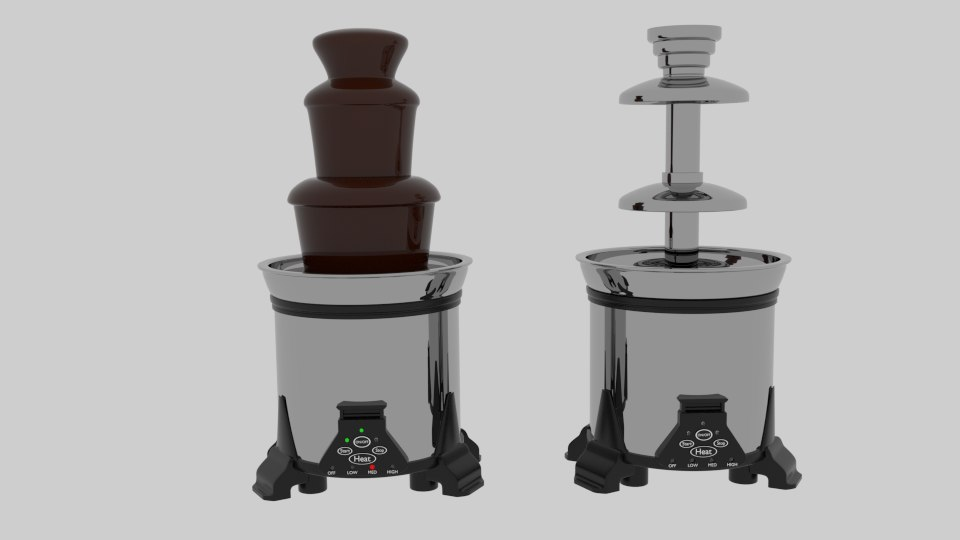 chocolate fountain 3ds
