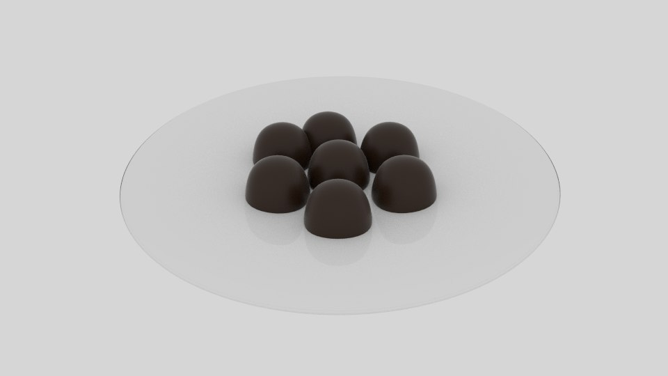 chocolate candy platter 3ds free