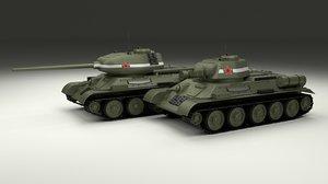 obj soviet t-34 85 tank