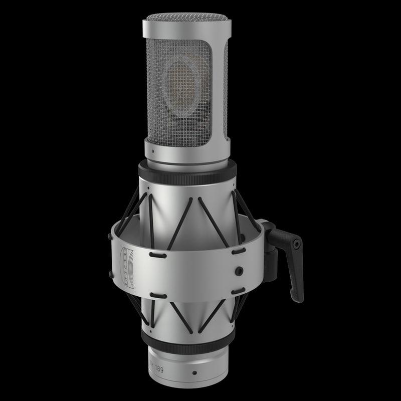 3d microphone brauner model