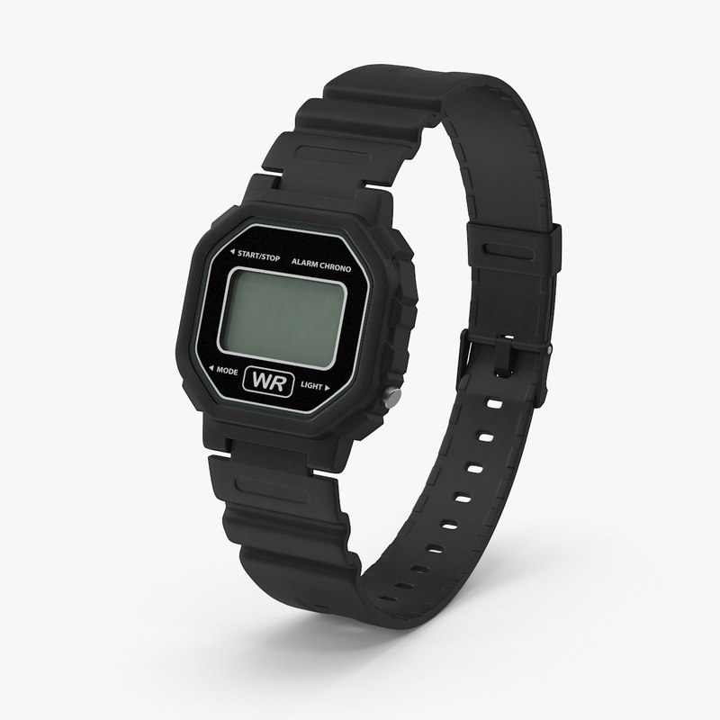 digital watch max