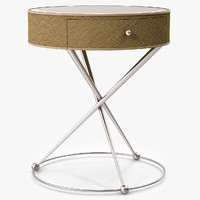 3d model pippa end table ferguson