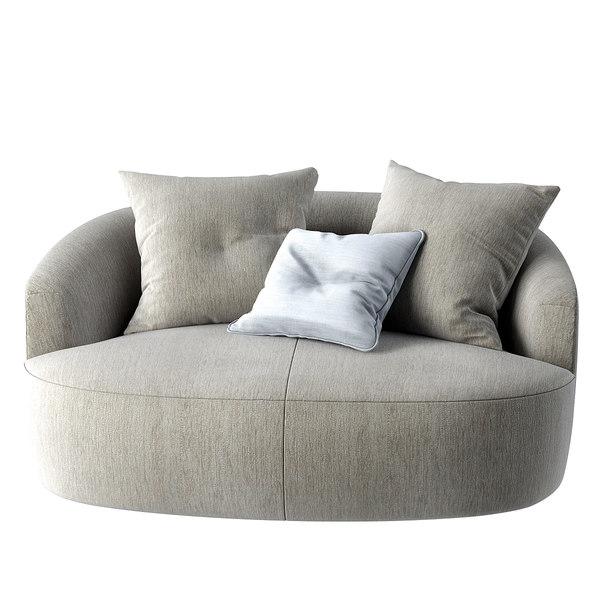 obj casamilano sofa francesca