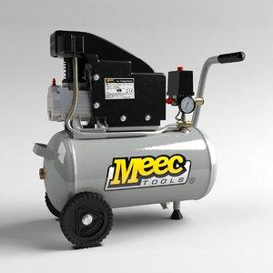 3d model industrial air compressor